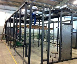 Construção de cabina acústica para SENIOR SISTEMAS
