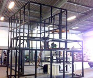 Fabricação de cabina acústica EDB-CAB 30 para WEG