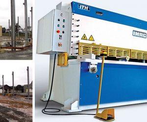 Fase intermediária de construção da nova fábrica de Carenagens Acústicas da EletrodB
