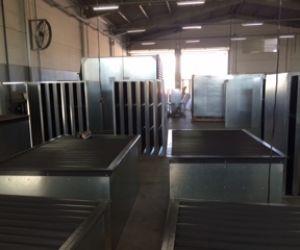 Fabrica 4, responsável pela montagem de atenuadores resistivos, portas acústicas e muffler (sil